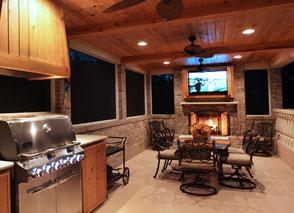 Custom Home Builder Outdoor Kitchen